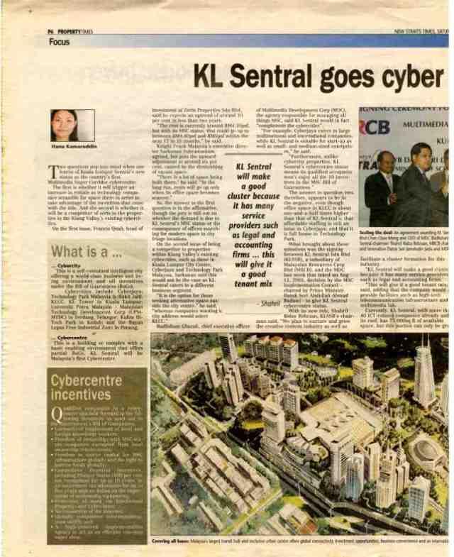 KLSentralGoesCyber - NST PRoperty 18022006001