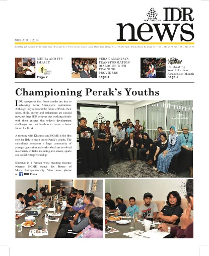 IDR NEWS APRIL 2014 Cover